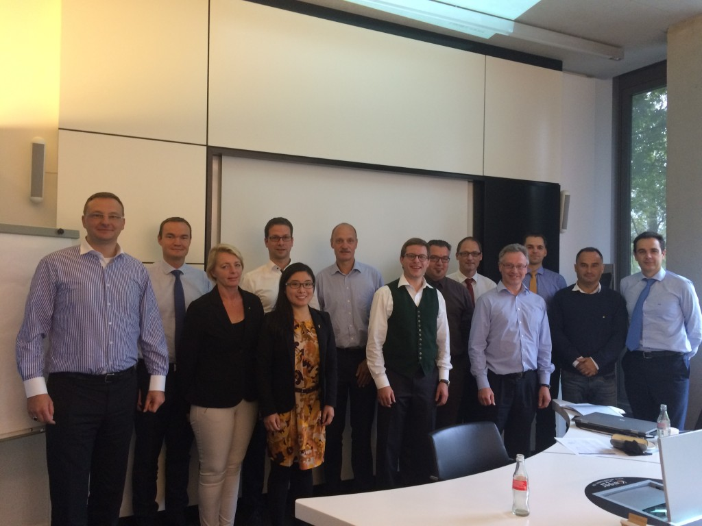 15th September 2015 – Annual Meeting of the Cluster Excellence Expert Group, Munich