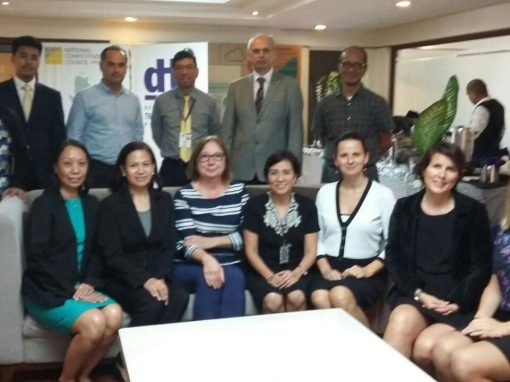 FEMAC takes part of  the Natureef Mission in the Philippines, 21th to 25th November 2016