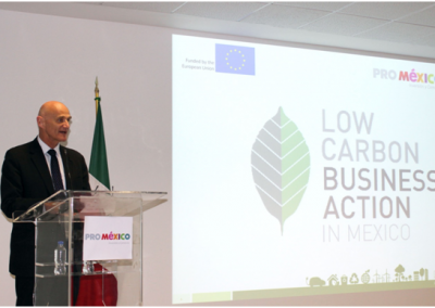 FEMAC'S PARTICIPATION IN THE EUROPEAN PROJECT TO REDUCE THE MEXICO CO2 EMISSIONS – 7th to 9th of March